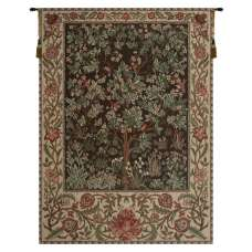 Tree of Life - Brown Belgian Tapestry