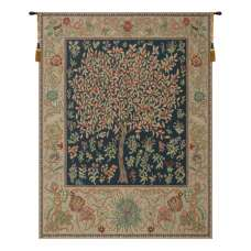 Pastel Tree of Life Belgian Tapestry