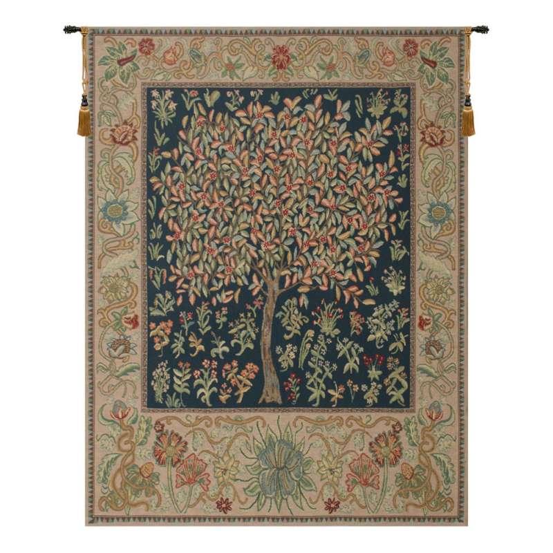 Pastel Tree of Life Belgian Tapestry