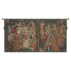 Vendages (Red) European Tapestry Wall Hanging