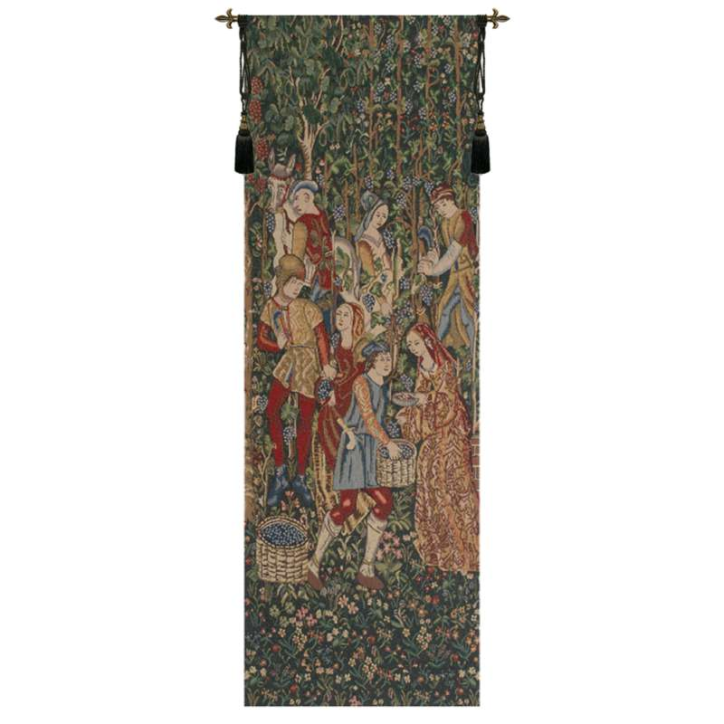 Vendage Portiere, Right Side Belgian Tapestry