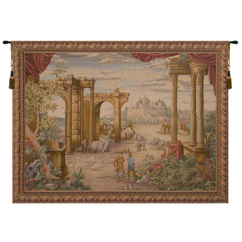 Vue Antique French Tapestry