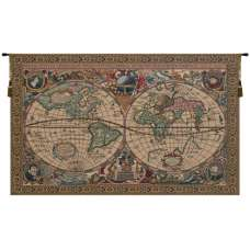 Map Mercator Belgian Tapestry