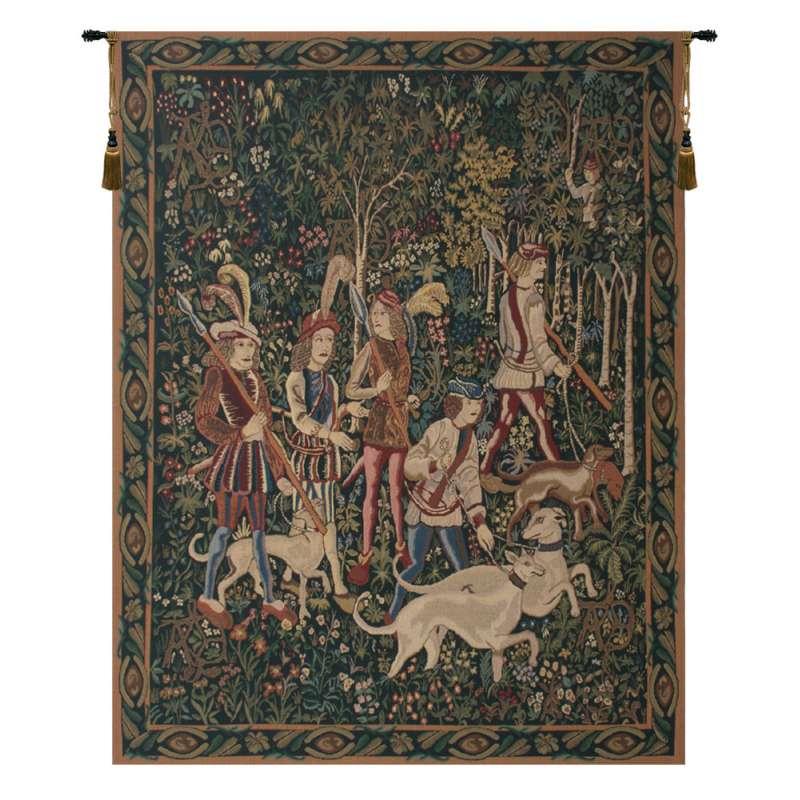Unicorn Hunt with Border Belgian Tapestry