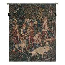 Unicorn Hunt  Belgian Tapestry