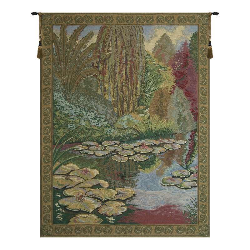 Monet's Ville de Vertheuil  European Tapestry Wall Hanging