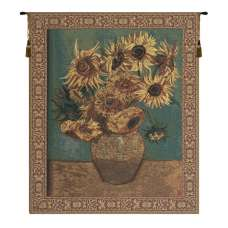 Sunflowers  Belgian Tapestry