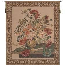 Mignon Bouquet, Beige Belgian Tapestry