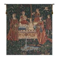 Lady in the Bath Belgian Tapestry