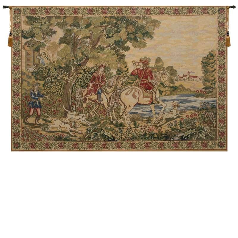 Noble Hunt Belgian Tapestry