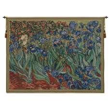 Les Iris Belgian Tapestry