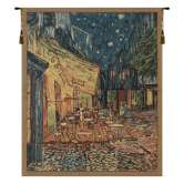 Van Gogh's Terrace  Belgian Tapestry