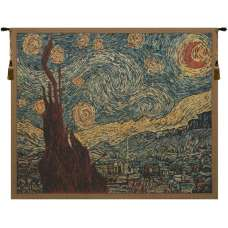Van Gogh's Starry Night Belgian Tapestry