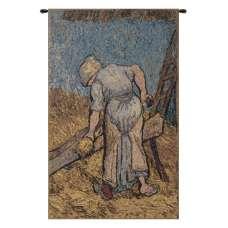 Van Gogh's Flax Harvest Belgian Tapestry