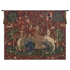 Taste Lady and Unicorn Belgian Tapestry