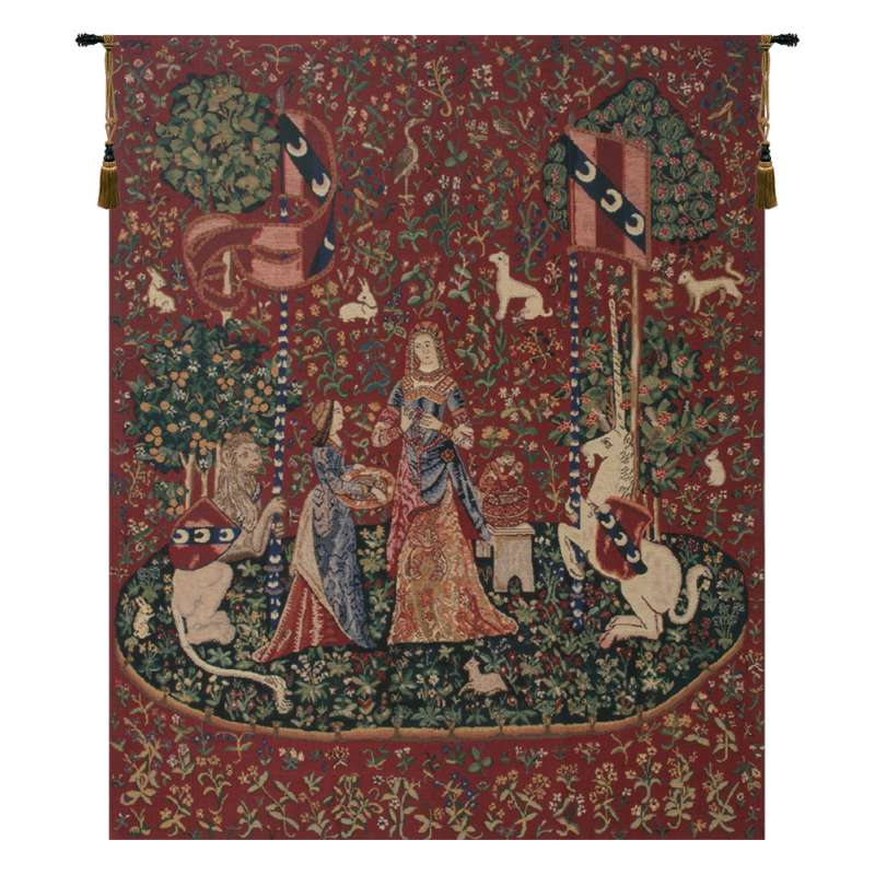 Smell, Lady and the Unicorn Belgian Tapestry