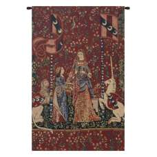 Smell, Lady and Unicorn Belgian Tapestry