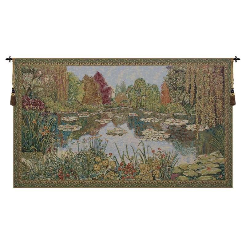 Parc de Monet European Tapestry Wall Hanging