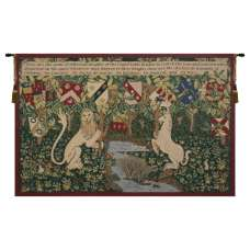 Arms of the Knights Belgian Tapestry