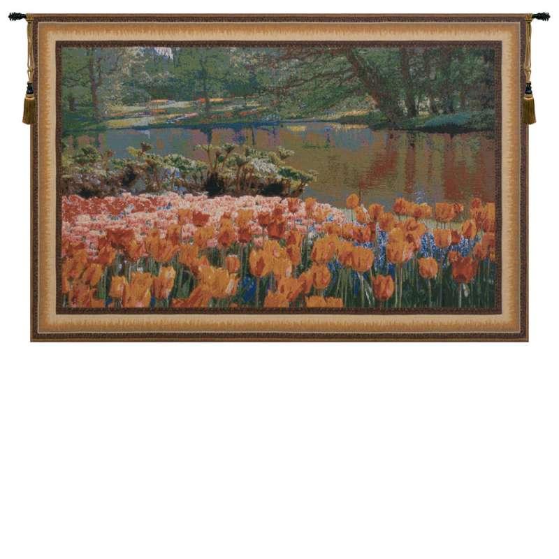 Keukenhof I  Belgian Tapestry