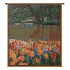 Keukenhof I, Mini Belgian Tapestry