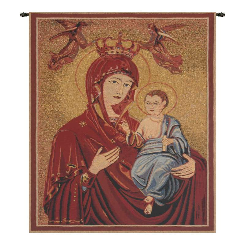 Madonna and Child II Belgian Tapestry