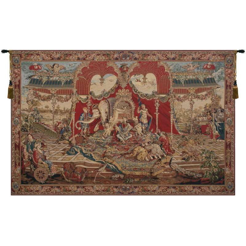 Audience of the Prince Belgian Tapestry