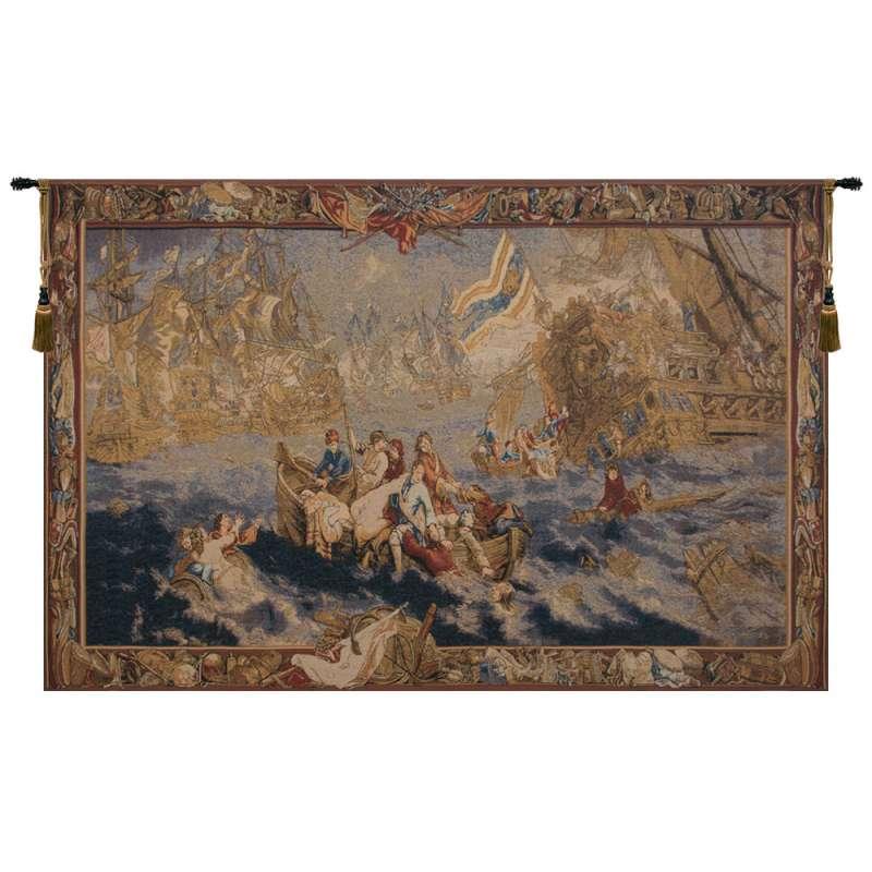 Bataile Navale Belgian Tapestry
