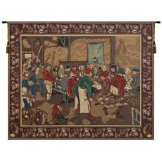 Wedding Feast Belgian Tapestry