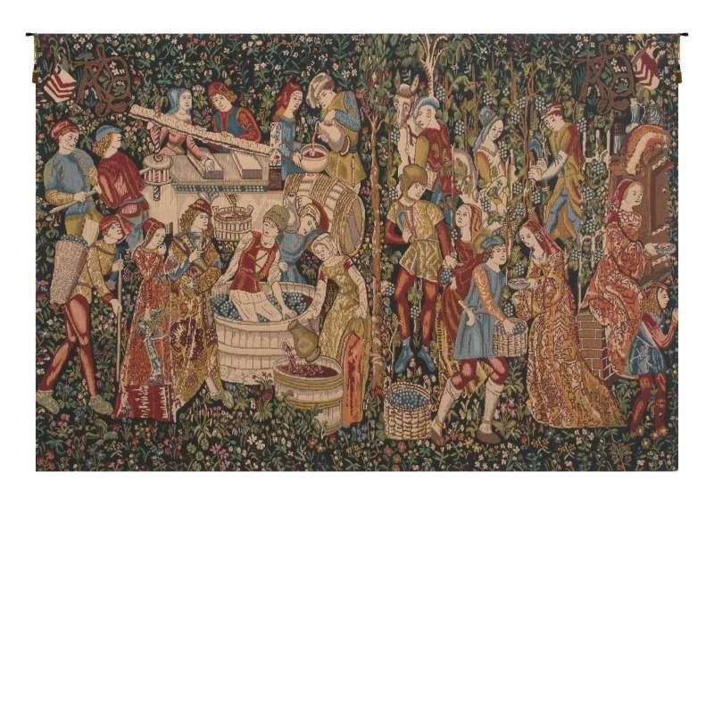 Wine Makers, Terracotta Belgian Tapestry