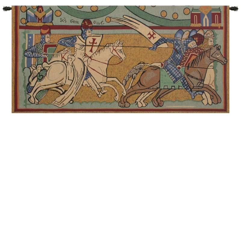Chevaliers de St. Gregoire Belgian Tapestry