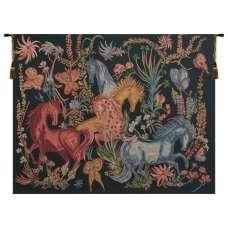 Cheval Azures  Belgian Tapestry