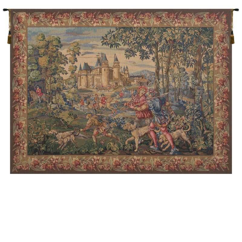 La Chasse  Belgian Tapestry