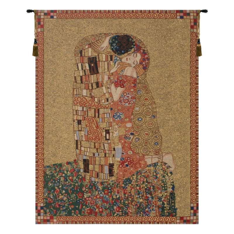 Klimt's Kiss Belgian Tapestry