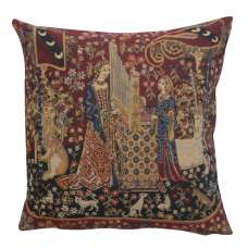 Hearing II Belgian Cushion Cover