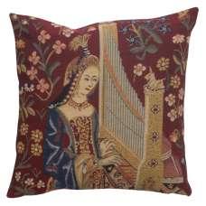 Hearing III Belgian Cushion Cover