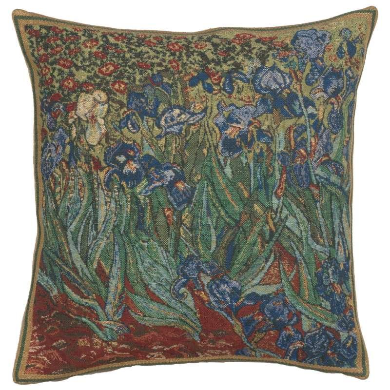 The Iris I Belgian Cushion Cover