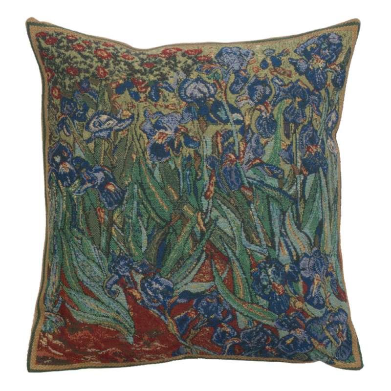 The Iris II Belgian Cushion Cover