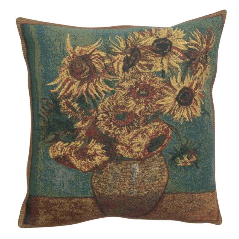 Sunflowers Belgian Cushion Cover