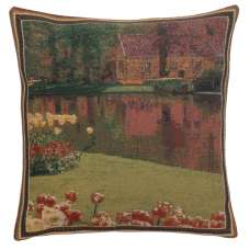 Keukenhof Gardens IV Belgian Cushion Cover
