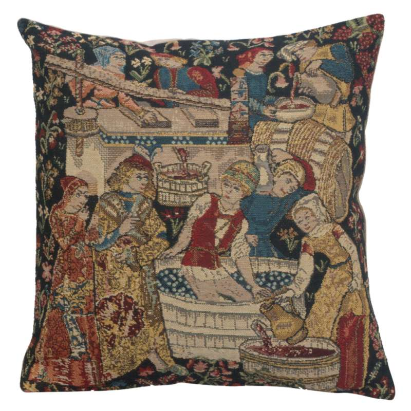 Vendages V Belgian Cushion Cover