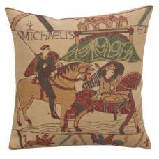 Bayeux Mont St. Michel I Belgian Cushion Cover