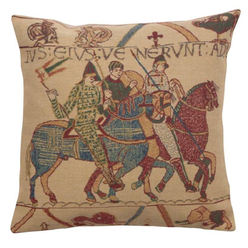 Bayeux Mont St. Michel II Belgian Cushion Cover