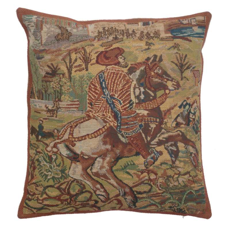 Vieux Brussels I Belgian Cushion Cover