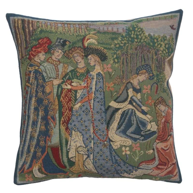 Duc De Berry II Belgian Cushion Cover