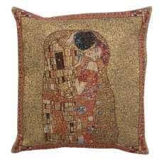 Le Baiser by Klimt Belgian Cushion Cover
