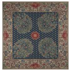 Tree of Life - Blue Tapestry Throw