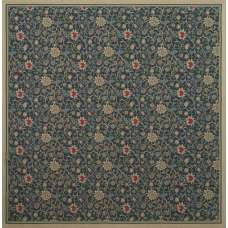 Fleurs de Morris Tapestry Throw