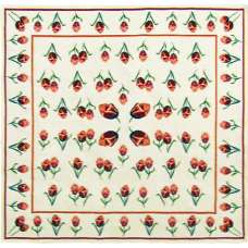 The Tulips Belgian Throw
