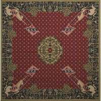 Dame a la Licorne Tapestry Throw